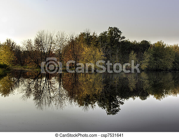 Reflections - csp7531641