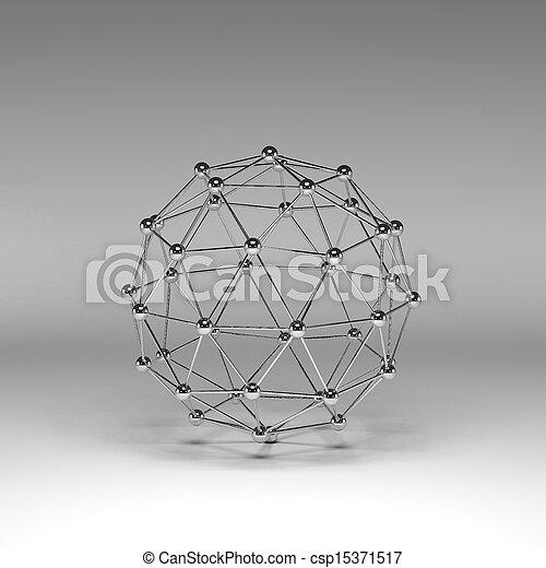 Reflective molecular structure - csp15371517