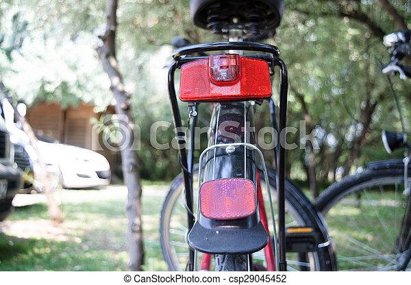 Licht Voor Fiets : Reflector licht bicycle fiets black achterkant reflectors