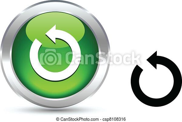 Refresh button. - csp8108316