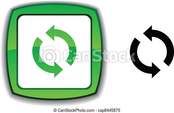 Refresh button. - csp8445875