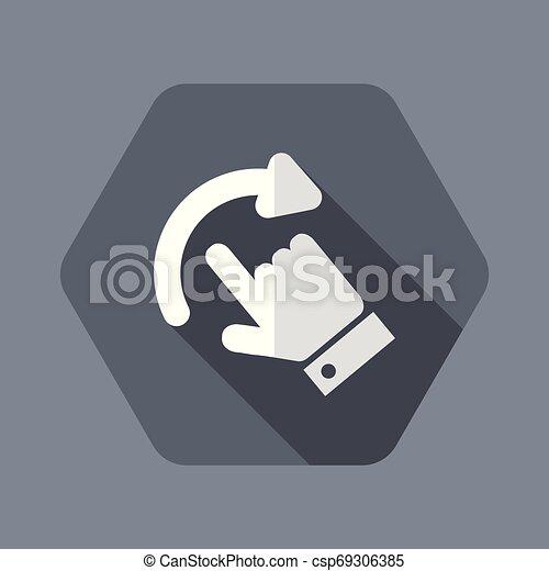 Refresh button - csp69306385