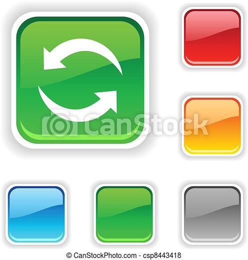 Refresh button. - csp8443418