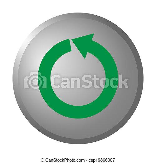 Refresh button - csp19866007
