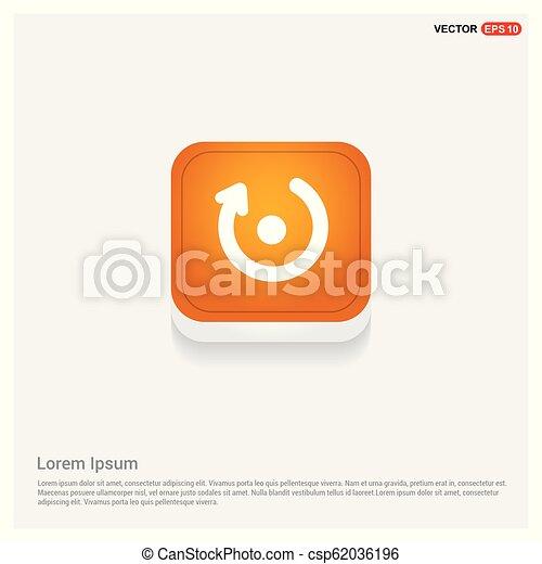 Refresh icon - csp62036196