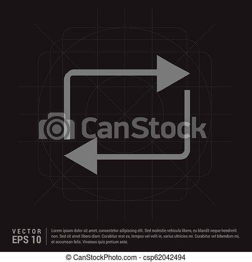 Refresh icon - csp62042494
