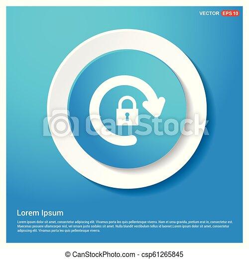 Refresh icon - csp61265845