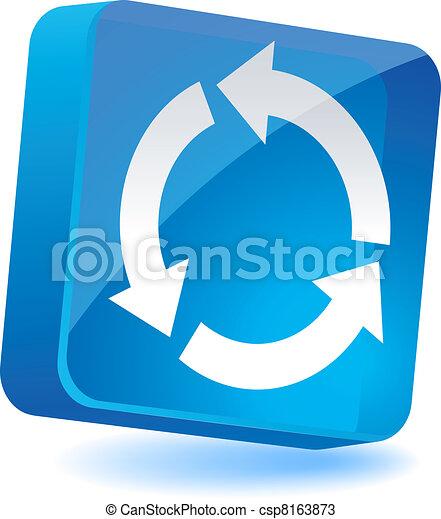 Refresh Icon. - csp8163873