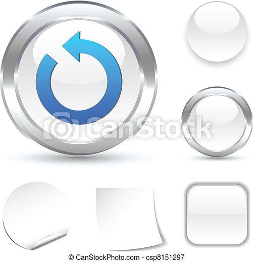 Refresh icon. - csp8151297