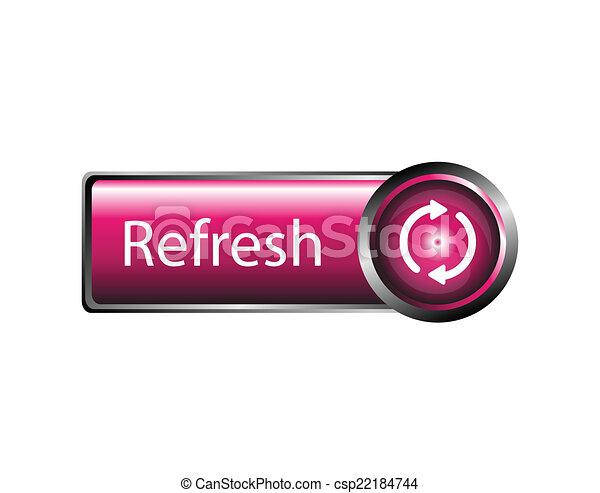 Refresh icon, refresh button sign - csp22184744