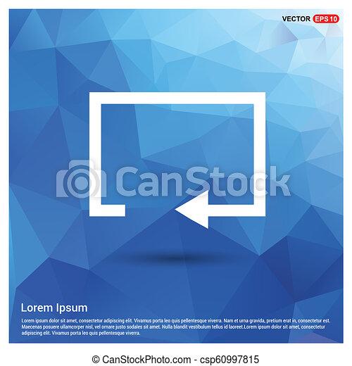Refresh icon - csp60997815