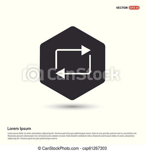Refresh icon - csp61267303