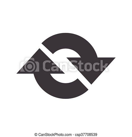 Refresh Icon vector - csp37708539