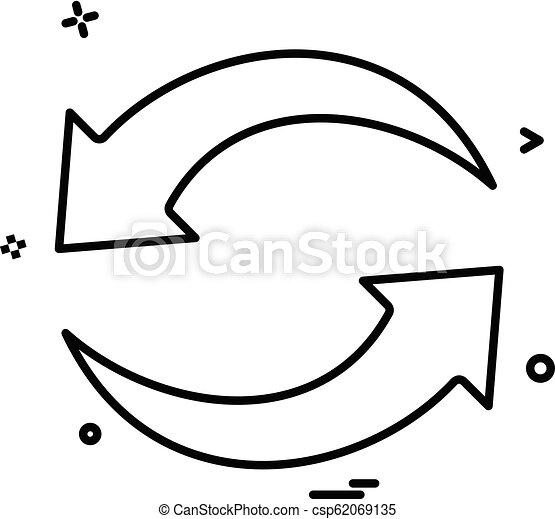 refresh reload arrow basic icon - csp62069135