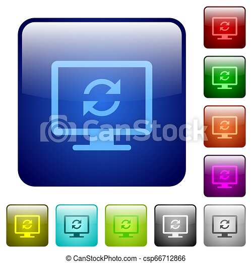 Refresh screen color square buttons - csp66712866