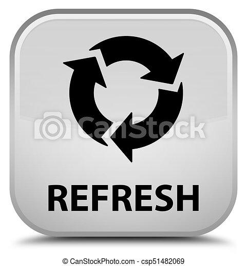 Refresh special white square button - csp51482069