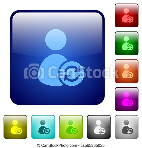 Refresh user account color square buttons - csp65365035