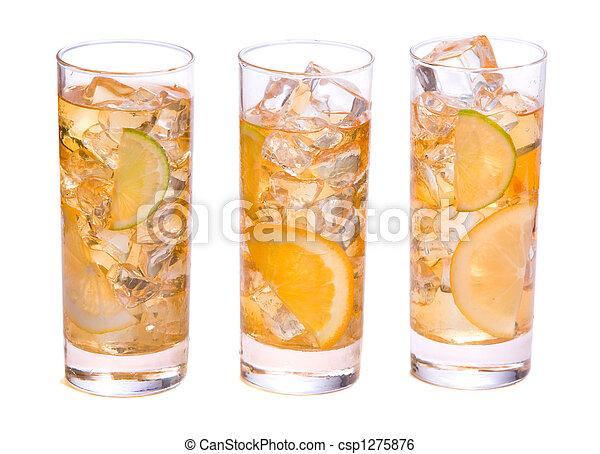 Refreshing Ice Drink - csp1275876