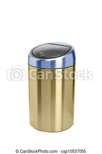 Refuse bin isolated on white background - csp10537055