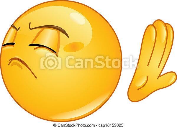 Refuse emoticon - csp18153025