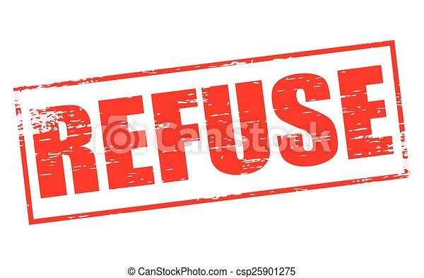 Refuse - csp25901275