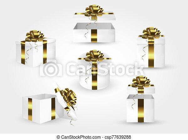 regalo, boxes., conjunto - csp77639288