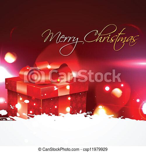 Regalo de Navidad - csp11979929