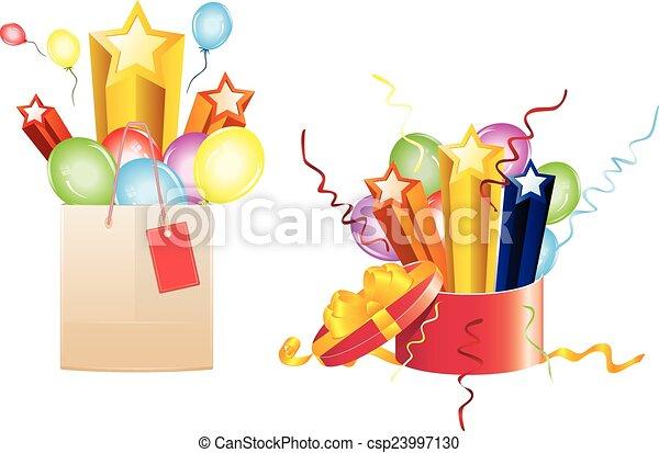 Regalos de celebración - csp23997130