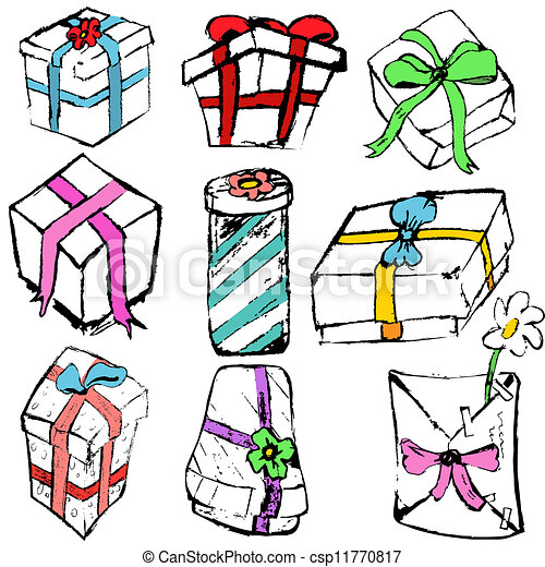 Colección de regalos - csp11770817