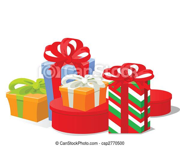 Regalos de Navidad - csp2770500
