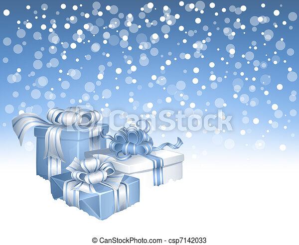 Regalos de Navidad - csp7142033