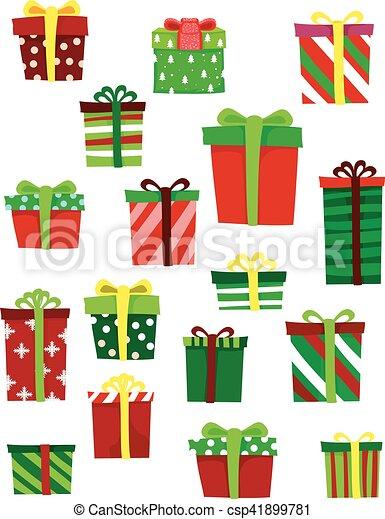 Diferentes regalos - csp41899781