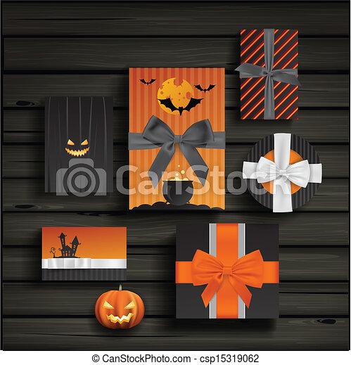 Regalos de Halloween - csp15319062