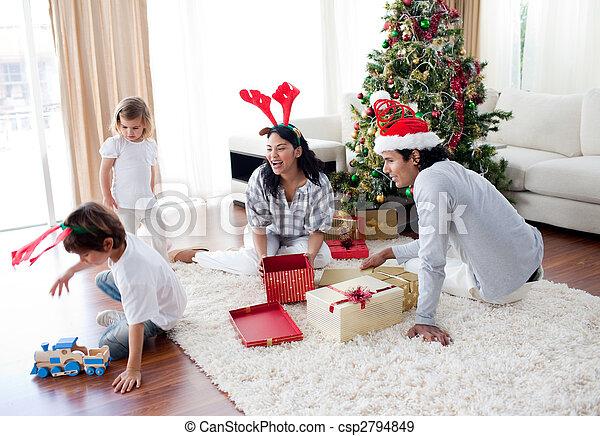 Regalos Hogar Navidad Familia Juego Navidad De La Familia