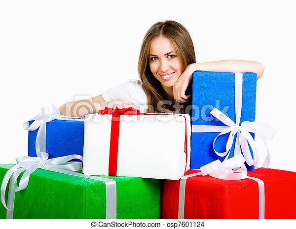 b469ccfff63d regalos, mujer, joven, bastante