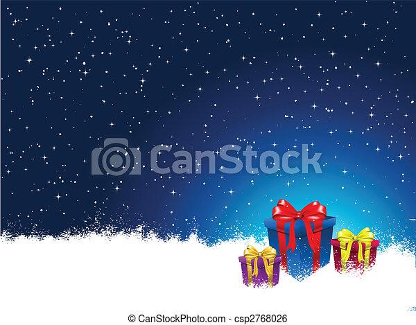 Regalos de Navidad - csp2768026
