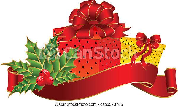 Regalos de Navidad - csp5573785