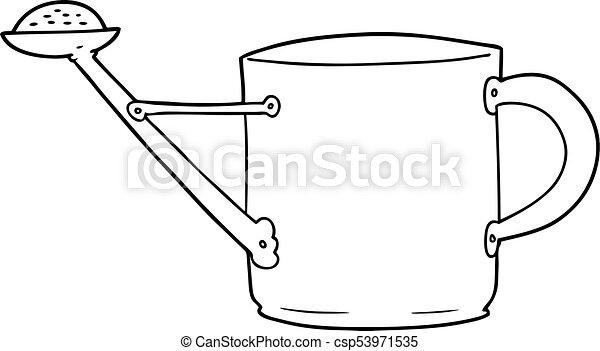El bidón de agua - csp53971535