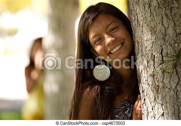 regarder, arbre, bewind - csp4673503