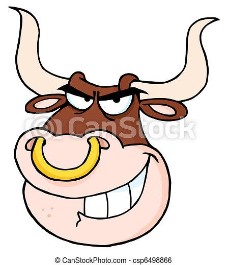 Regarder f ch taureau t te dessin anim f ch taureau t te dessin anim mascotte - Dessin tete taureau ...