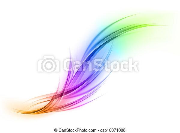 regenbogen, form - csp10071008