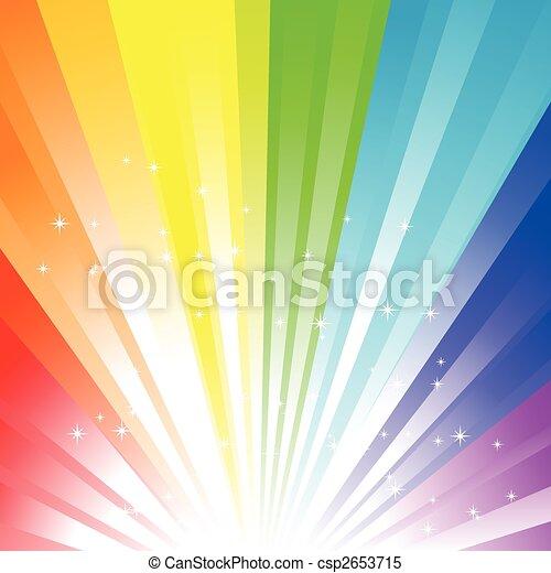 regenboog, achtergrond - csp2653715