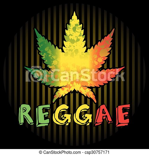 reggae background with leaf of cannabis and text vector geometric seamless pattern vector geometric pattern background