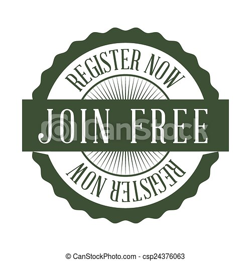 register button design  - csp24376063
