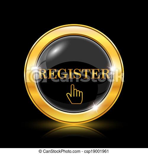 Register icon - csp19001961