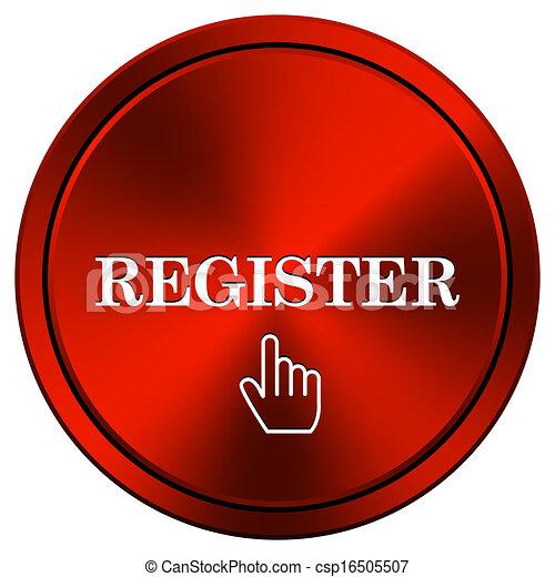Register icon - csp16505507