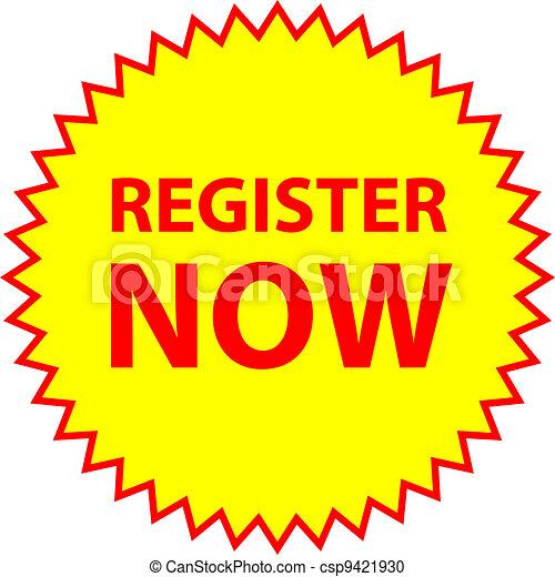 register now - csp9421930