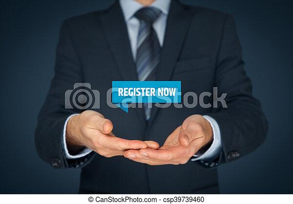 Register now - csp39739460