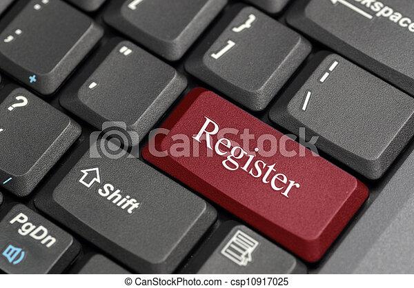 Register on keyboard  - csp10917025