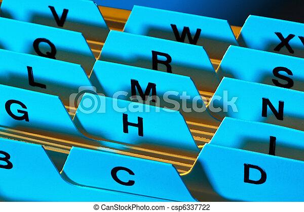 Register tabs - csp6337722